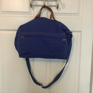 Lacoste Violet Small Duffle Bag